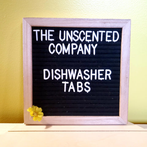 Dish Tabs - Unscented