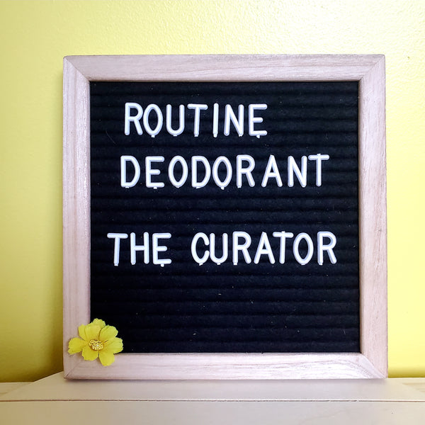 The Curator - All Natural Deodorant 2oz