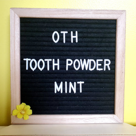Tooth Powder - Mint