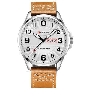 Ceas barbatesc Curren Expedition maro