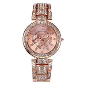 Ceas dama Geneva Gorgeous rose gold