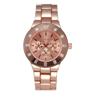 Ceas dama Geneva Flamingo rose gold
