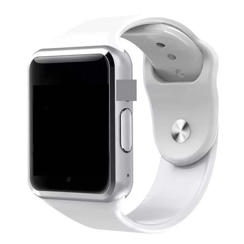Image of Smartwatch S553 Bluetooth, Functie apelare (SIM), Camera foto, Pedometru, Monitorizare somn etc. alb