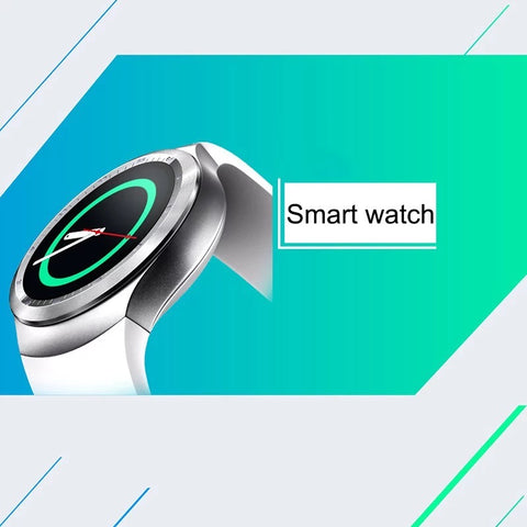 Smartwatch S564 Ecran Touchscreen, Bluetooth, SIM Notificari, Pedometru, Monitorizare somn, alb