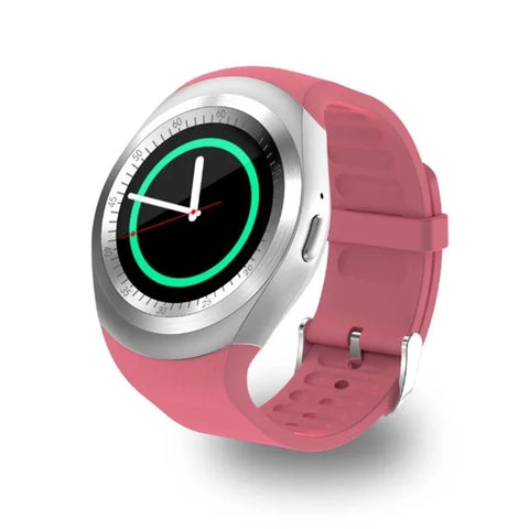 Smartwatch S563 Ecran Touchscreen, Bluetooth, SIM Notificari, Pedometru, Monitorizare somn, roz