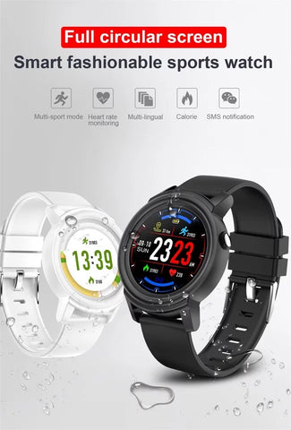 Smartwatch S565 Multi Sport, Monitorizare ritm cardiac, multiple functii fitness etc. negru
