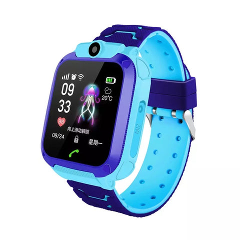 Image of Smartwatch Copii S568, SIM, Monitorizare Locatie, Intercom, SOS, Camera, Microfon albastru