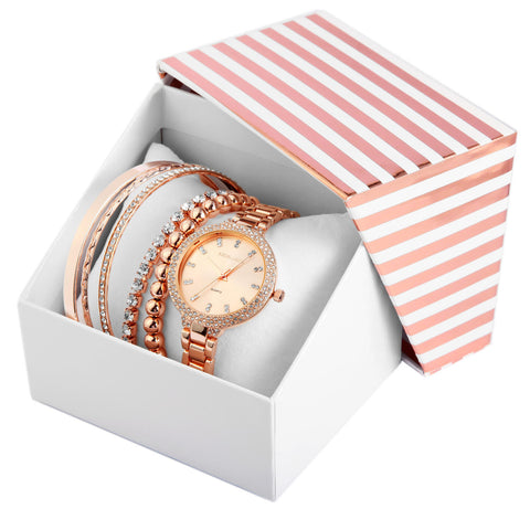 Image of Set cadou, ceas dama, Excellanc EX0035R rose gold