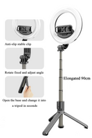 Bluetooth Selfie Stick and Ring light