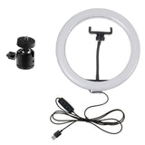 LED Ring Light with Tripod USB