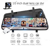 9.6'' FHD 1080P Dual Lens Front and Rear Mirror Camera
