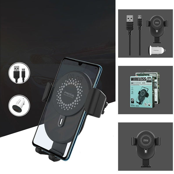 Proda Wireless Charger and Air Vent Phone Holder Kit