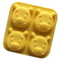 Hello Kitty/Mickey Mouse/Winnie the Pooh Silicone Mould