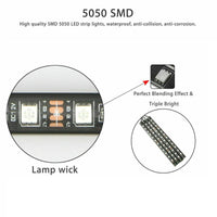Interior Atmosphere Lights RGB 5050 SMD LED - 12V