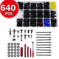 640pc Automotive Plastic Trim Kit and Tools