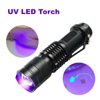 (UV) UltraViolet LED Pocket torch
