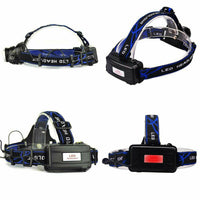 Zoomable Single Cree LED Head Lamp