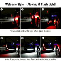Car Door - Warning and Welcome light