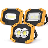 Rechargeable COB LED Work light and Power Bank