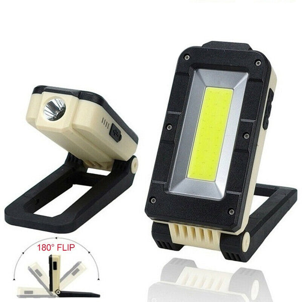 180 Degree Rotating LED Work Lamp with Torch - Type 1