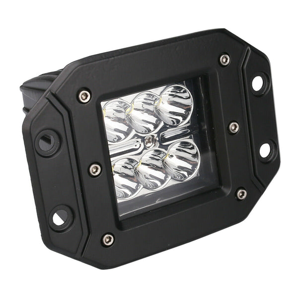 "4"" Flush Mount LED Flood Light (Pair)"