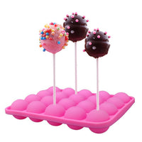 20 Hole Lollipop Silicone Mould
