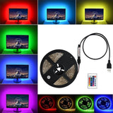 1 - 5 Metre - USB 5050 SMD RGB LED Light Strip