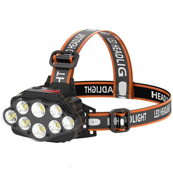 XC88 - 8 LED Headlight - Rechargeable