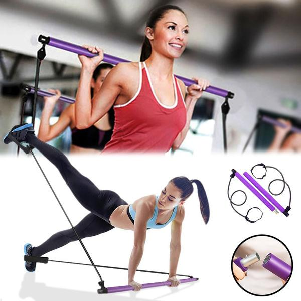 Pilates Bar Kit- Resistance Band Resistance Band Isports.dk
