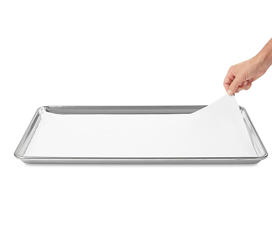 Parchment Paper Sheets, Silicone Coated Pan Liners