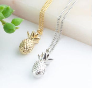 Pineapple Necklace  - Miandu Forever