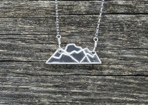 Three Sisters Fernie Mountain Necklace - Mackenzie Jones