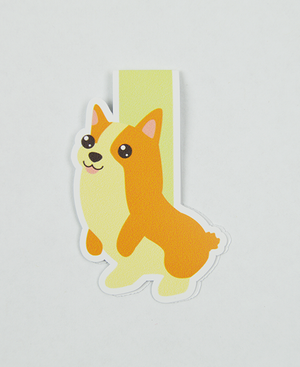 Corgi - Magnetic Bookmark - IM Paper