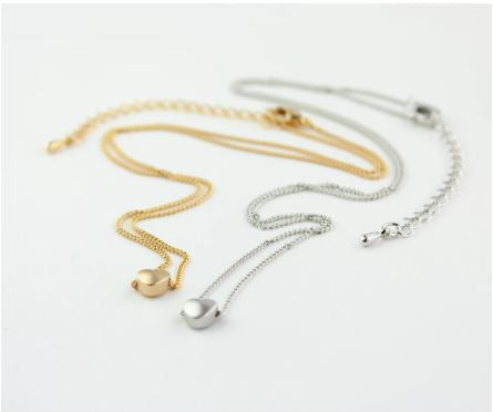 Canada (Distance) Heart Necklace Set - Miandu Forever