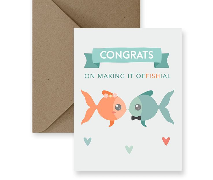 Congrats On Making It Offishal - IM Paper