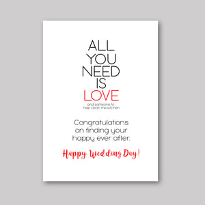 All Need Love Card - What She Said Creatives