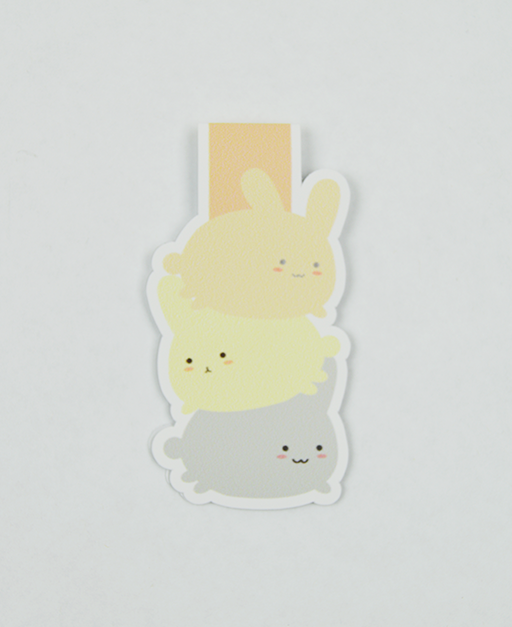 Bunny - Magnetic Bookmark - IM Paper