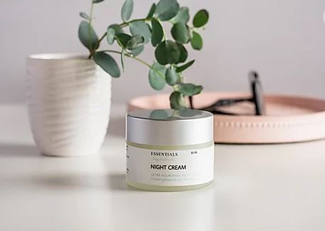 Night Cream - Essentials by Nature