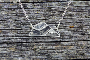 Mount Robson Mountain Necklace - Mackenzie Jones