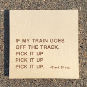 Black Sheep  8' Hip Hop Quote Signs - 35LTD