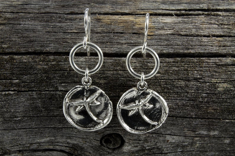 Dragonfly Totem Earrings - Mackenzie Jones