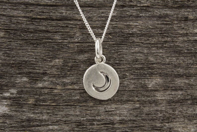 Mini Moon Necklace - Mackenzie Jones