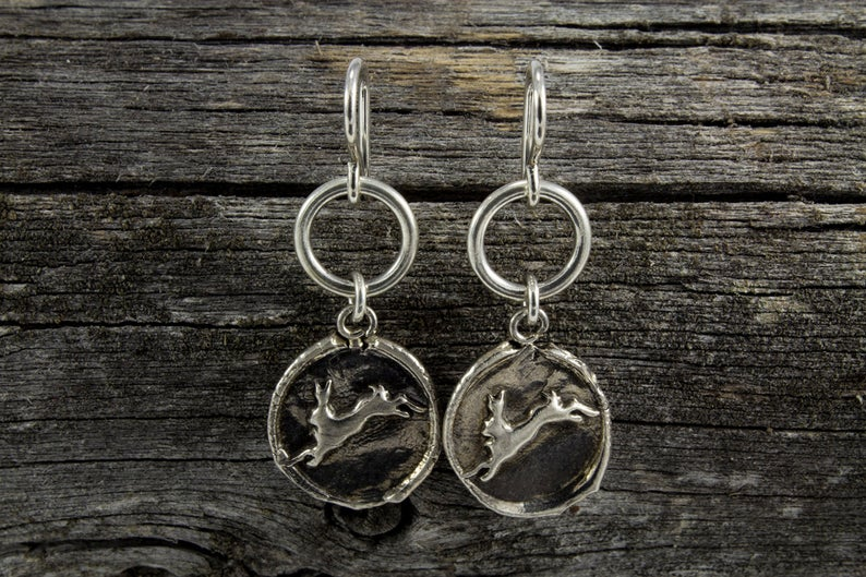 Hare Totem Earrings - Mackenzie Jones