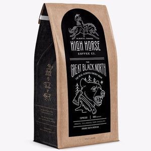The Great Black North Coffee - High Horse Coffee