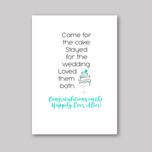 Came For Cake Card - What She Said Creatives