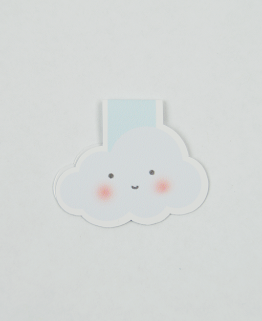 Cloud - Magnetic Bookmark - IM Paper