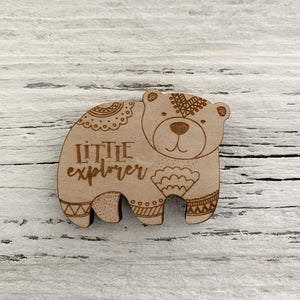 Little Explorer  Magnet - Etch'd Designs