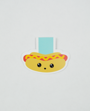 Hot Dog - Magnetic Bookmark - IM Paper