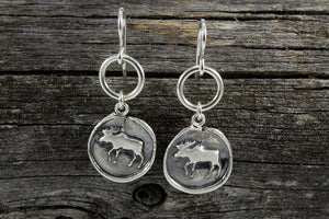 Moose Totem Earrings - Mackenzie Jones