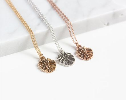 Monstera Necklace  - Miandu Forever